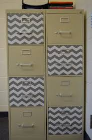 contact paper file cabinet diy makeover for cabinets tables a splash of color classroom zip