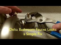 How To Replace A Bathroom Sink Faucet How To Repair Bathroom Sink Faucet Leaking Bathroom Faucet Don
