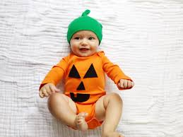pumpkin costume halloween 5 easy diy halloween costumes for baby the chirping moms