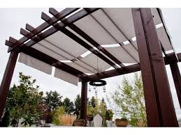 Pergola With Awning by Pergola Roof Ideas Patio Modern With Awning Cedar Concrete Deck