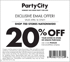 spirit halloween 20 off coupon 2013 free printable party city coupon september 2017