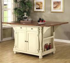white kitchen island cart with stools create a granite top crosley