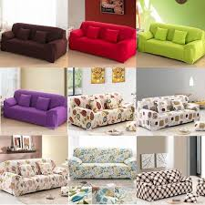 Stretch Sofa Slipcover by Details About 1 2 3 Seater L Shape Loveseat Chair Stretch Sofa