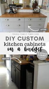 how to build custom base cabinets how to cut the depth of a base cabinet to hack in