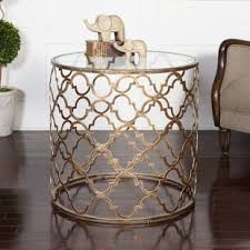 Quatrefoil Side Table Quatrefoil Side Table Wayfair