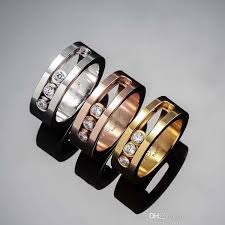 all wedding rings images Online cheap top quality france brand messika ring titanium steel jpg