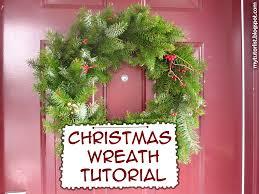 fresh wreath tutorial mytutorlist