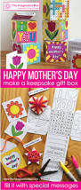 mothers day keepsake gift box card making and wordsearch art