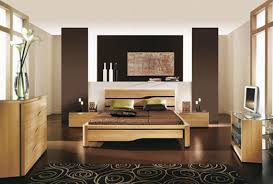 Wood Bedroom Decorating Ideas With Beautiful Wooden Furniture - Interior design ideas small bedroom
