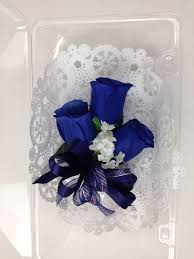 navy blue corsage new artificial navy corsage blue s corsage navy