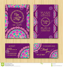 Wedding Invitations With Free Rsvp Cards Save The Date And Rsvp Cards Wedding Invitation Purple Palette