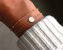 Gold Personalized Bracelets Personalized Bracelet Etsy