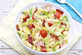 Pasta Salad Mayo by Blt Pasta Salad With Avocado U2014 The Fountain Avenue Kitchen
