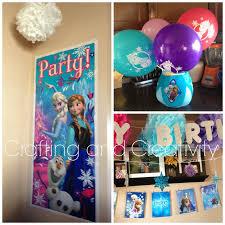 crafting and creativity my daughter u0027s 5th birthday frozen theme