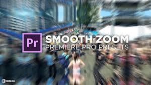 smooth zoom transition free preset for premiere pro tutorial by