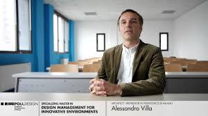 master design management design management for innovative environments alessandro villa