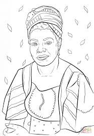maya angelou coloring page free printable coloring pages