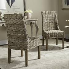 Woven Dining Room Chairs Rattan Dining Room U0026 Kitchen Chairs Shop The Best Deals For Oct
