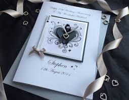 stylized wedding anniversary card handmade cards pink posh