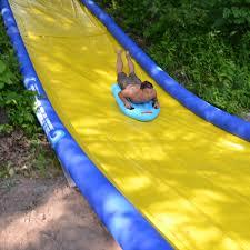 extreme slip n u0027 slide backyard water slide rave sports