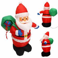 mayitr 1 2m santa claus with hang bag outdoor