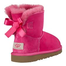 ugg toddler bailey bow sale ugg toddlers mini bailey bow boots pink 1005497t crs