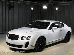 bentley continental 2010 2010 bentley continental gt supersports in ice white 063830