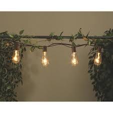 Edison Lights String by Gerson Edison St40 Bulb String Lights 2201330 Do It Best