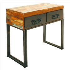 industrial chic recycled shabby console table industrial chic
