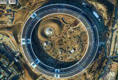 apple siege le nouveau siège d apple photographié par avion en ultra hd zoomez