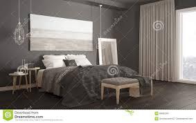 classic bedroom scandinavian modern style minimalistic interio