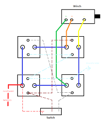 winch solenoid wiring diagram on winch download wirning diagrams