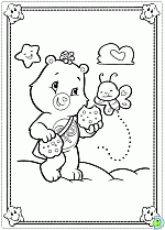 care bears coloring pages colouring care bears dinokids org