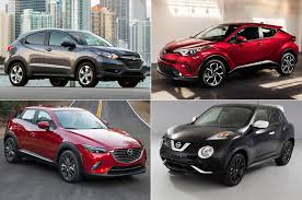 nissan honda toyota styling size up 2018 toyota c hr vs compact cuv competition