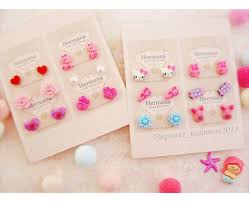 plastic stud earrings 765 best kids earrings images on earring
