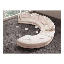 round sectional sofa ultra modern round sectional sofa ugalleryfurniture
