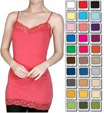 long lace cami tops u0026 blouses ebay