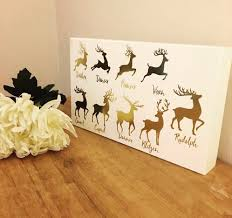 Home Interiors Deer Picture Santas Reindeers Plaque Home Interiors And Accessories Nuneaton