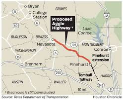 harris county toll road map county swapping land with txdot for 249 toll road right of way