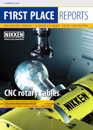 cnc rotary tables nikken kosakusho pdf catalogue technical