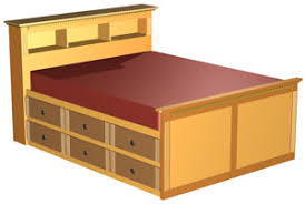 Woodworking Plans For Storage Beds by Double High Storage Bed Woodworking Plans