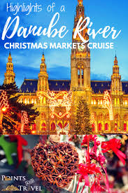 highlights of a danube river markets cruise