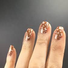 rose gold nail polish nail art stamping keely u0027s nails