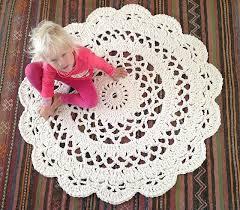 Rag Rug Directions Best 25 Crochet Rugs Ideas On Pinterest Crochet Rug Patterns