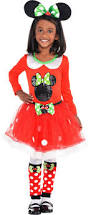 girls u0027 minnie mouse christmas costume accessories party city