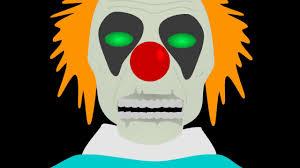 halloween animations clip arts evil clown spirit halloween animation youtube