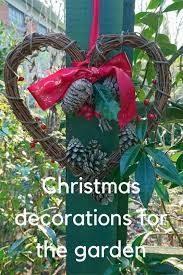 Christmas Garden Decorations by Christmas Garden Decorations How To Be Festive And Wildlife