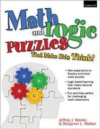 amazon com math and logic puzzles that make kids think grades 6