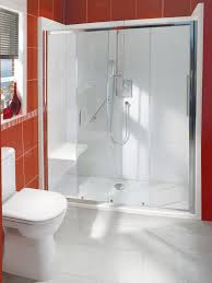 balterley bath out shower in enclosure package with seat 1700 x