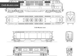 Cool Cad Drawings Train Carriage Cad Blocks Free Download